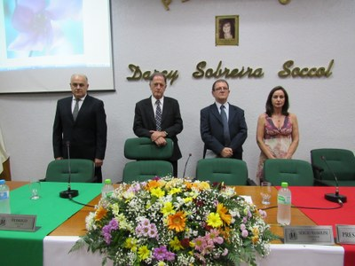 Mesa Diretora e Representante da 13 legislatura