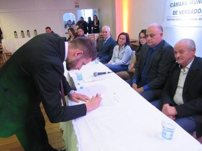 Assinatura da Frente Parlamentar