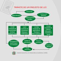 📌 Você sabia que antes de uma Lei ser aprovada ela tramita no Poder Legislativo em forma de Projeto de Lei❓