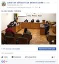 Câmara de Vereadores ao Vivo pelo Facebook