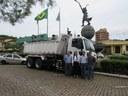 Caminhão é adquirido com recurso de Emenda Parlamentar