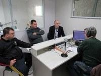 Comissão de Trânsito em entrevista na Rádio Rosário