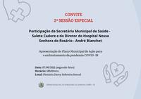 CONVITE 2ª SESSÃO ESPECIAL