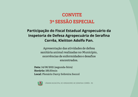 CONVITE 3ª SESSÃO ESPECIAL