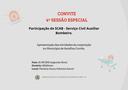 CONVITE 4ª SESSÃO ESPECIAL
