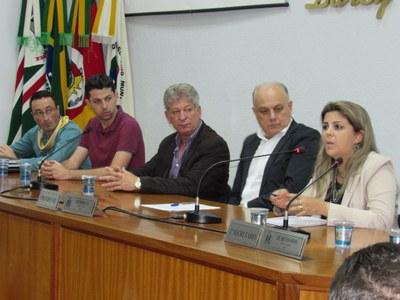 Corsan esteve no Legislativo na 1ª Sessão Especial do ano