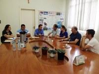 Deputado Sérgio Turra visita Câmara Municipal