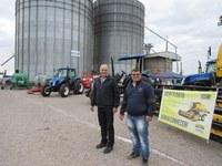 Fedrigo e Zé Betinardi visitam 9ª Expo Cooperlate