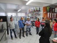 Fedrigo, Marinho e Zé Betinardi fazem convite ao Comércio