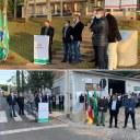 Presidente da Casa Legislativa e demais Vereadores participam da Cerimônia de Inauguração da recuperação total da VRS 851 e da pavimentação asfáltica da Via Siena, Bairro Santin