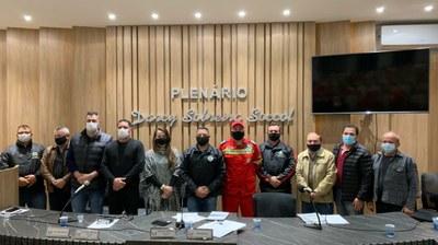 SCAB APRESENTA ATIVIDADES DA CORPORAÇÃO EM SESSÃO ESPECIAL