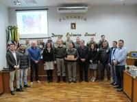 Legislativo presta homenagem a Brigada Militar