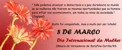 Sessão Solene em Homenagem ao Dia da Mulher