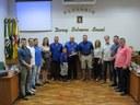 Sinuelo da Serra presta homenagem ao Poder Legislativo